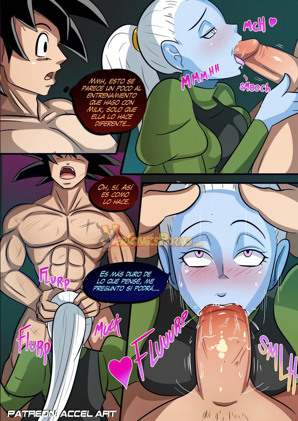 dbz sex comics
