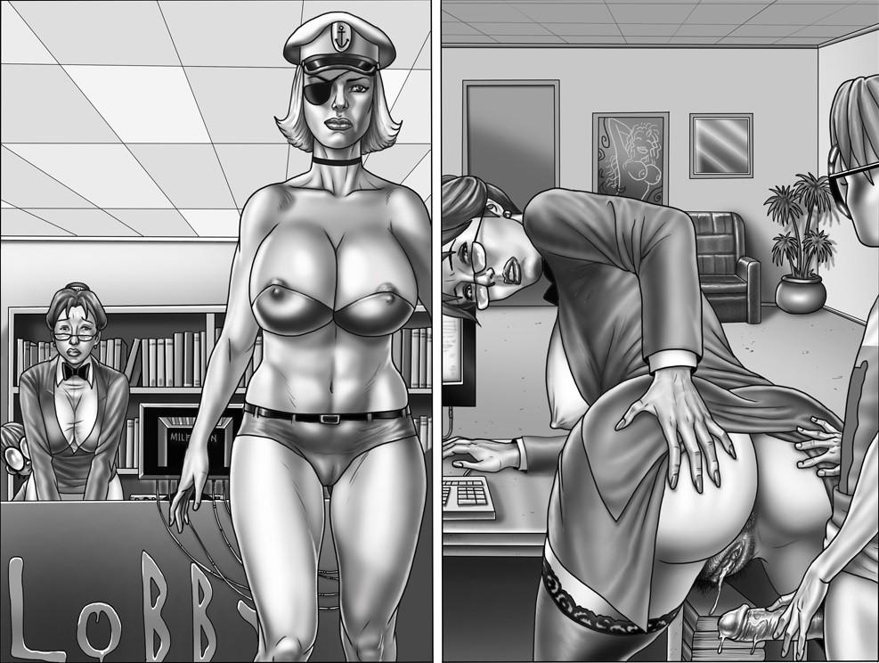 Stockings porn comics